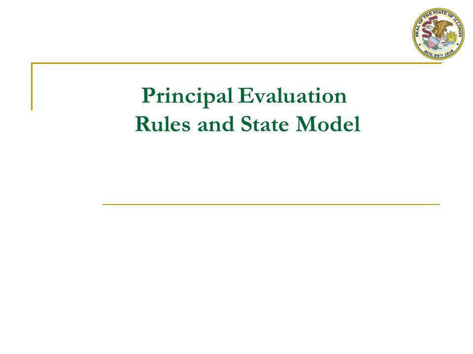 State Model for Principal Evaluation