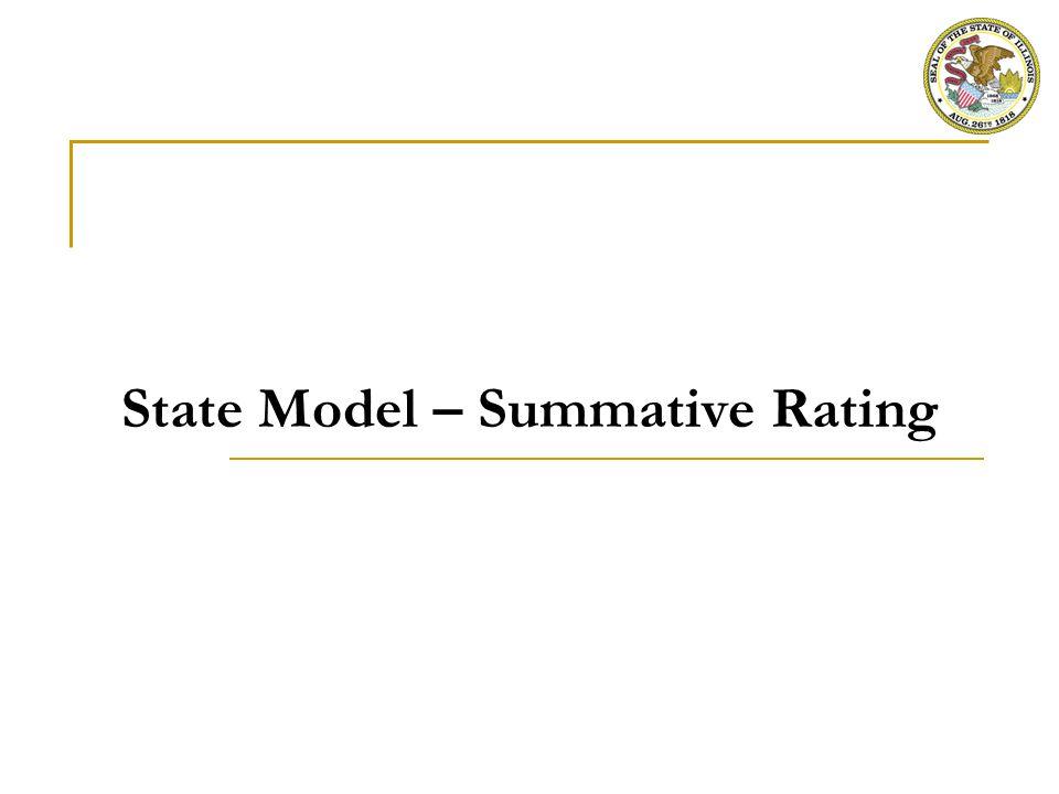 State Model – Summative Rating