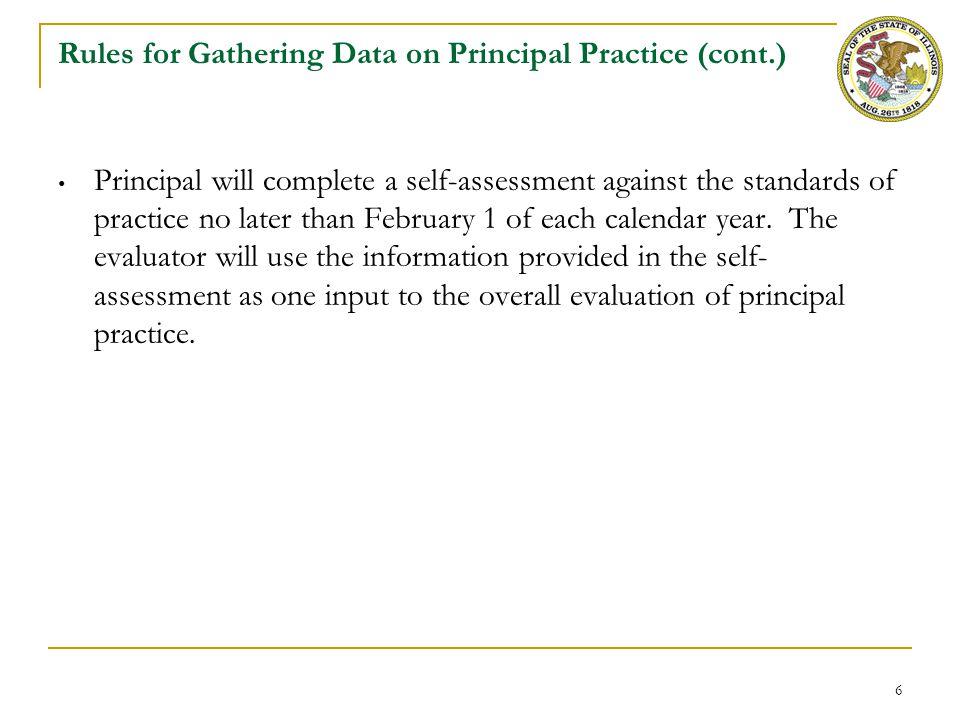 Appendix A: Illinois Standards for Principal Evaluation