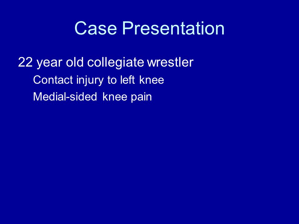 Mechanism ? –Foot planted –Outside force –Pain + pop