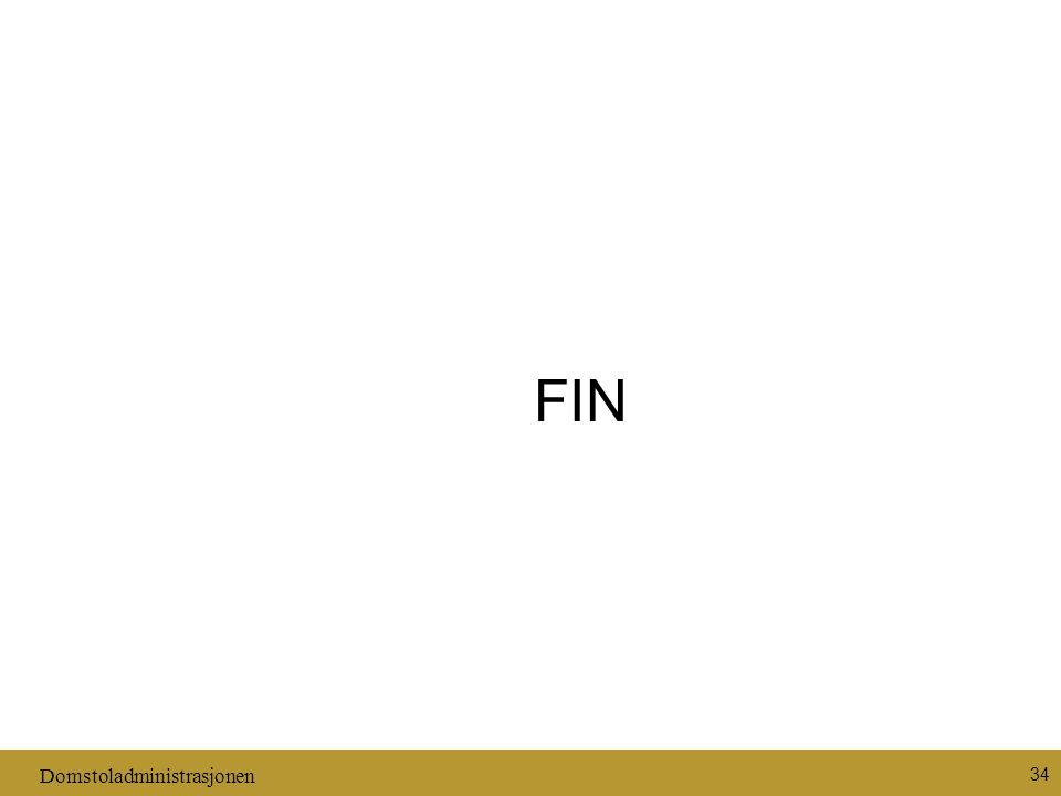 Domstoladministrasjonen 34 FIN