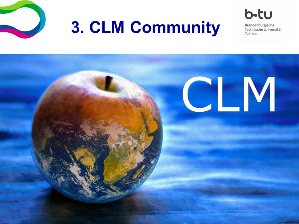 3. CLM Community
