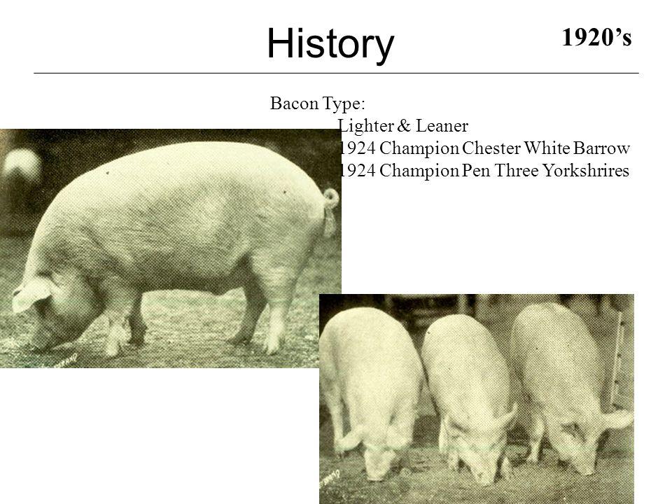 History 1940's 1944 1947