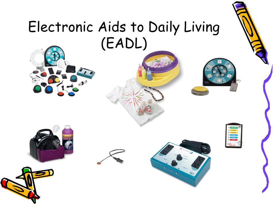 Electronic Aids to Daily Living (EADL)