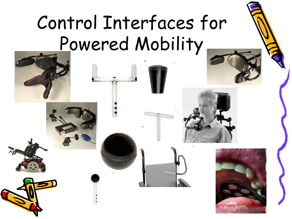 Control Interfaces for Powered Mobility