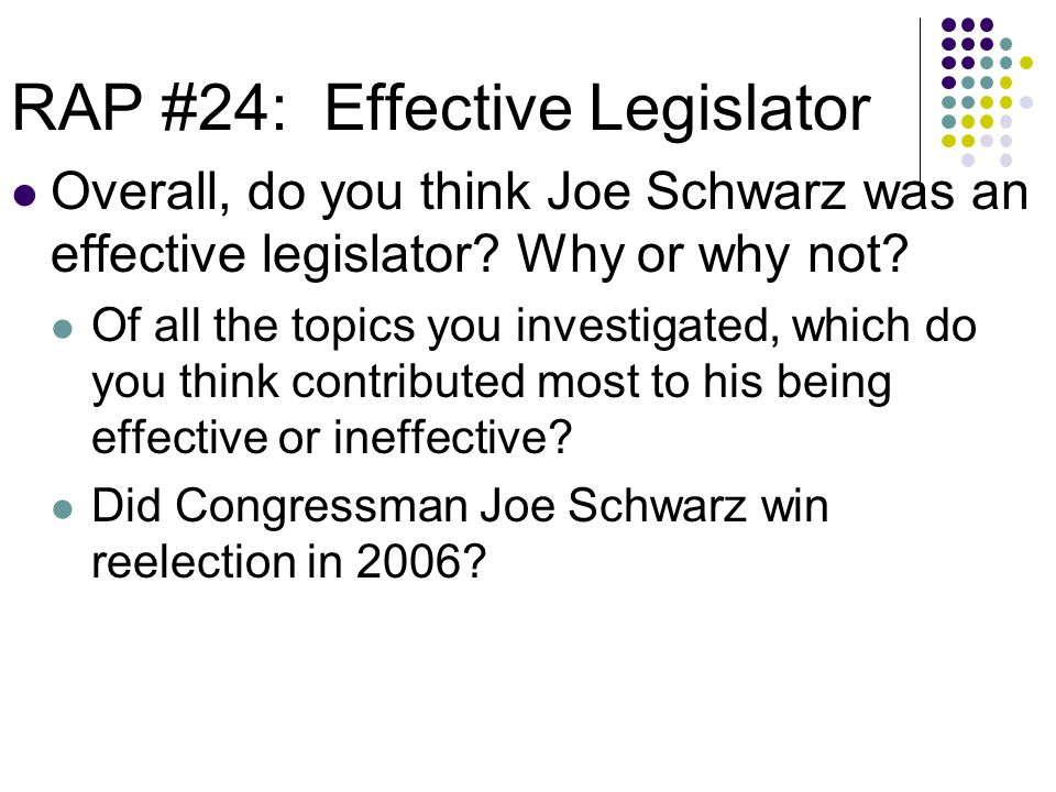 Social Studies Skill Builder 13 The final vote tally of the Republican primary in Michigan's 7 th District was 53 percent (33,244 votes) for Walberg and 47 percent (29,349 votes) for Schwarz.