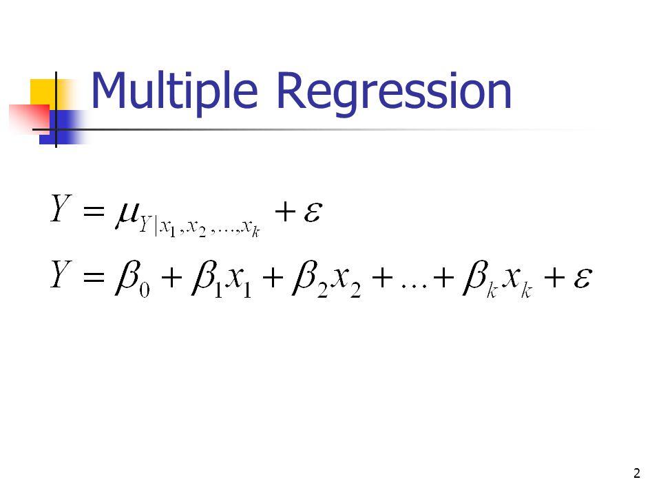 2 Multiple Regression