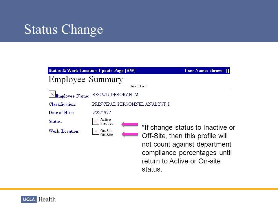 Department Profile