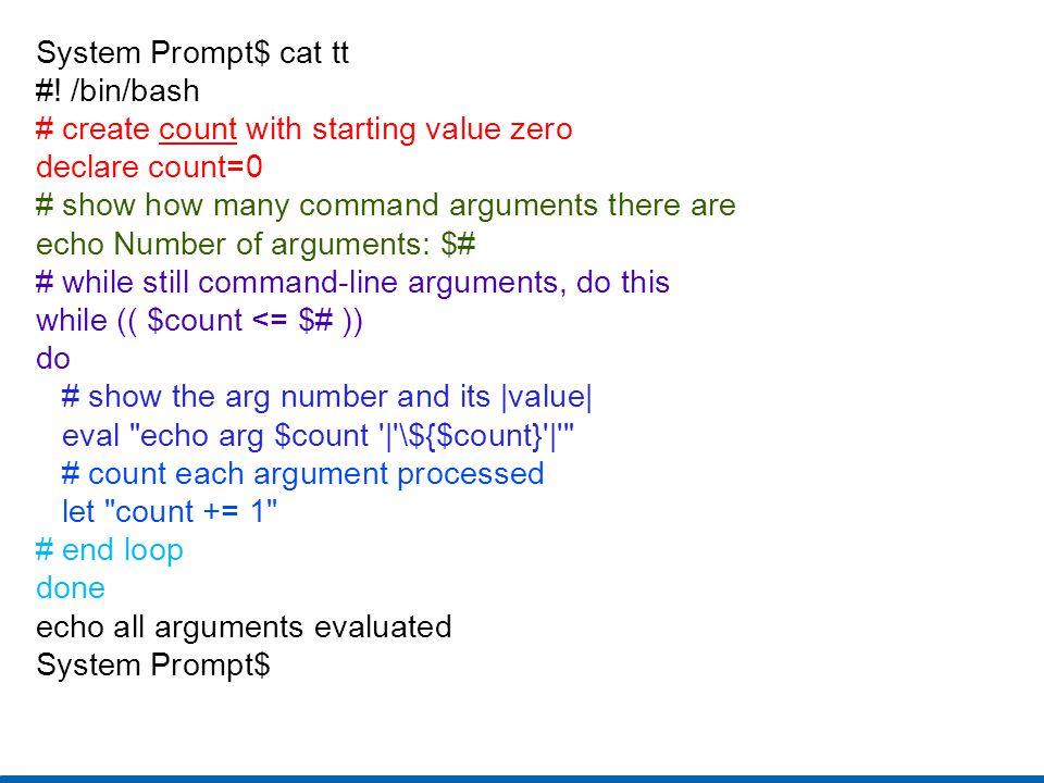 System Prompt$ cat tt #.
