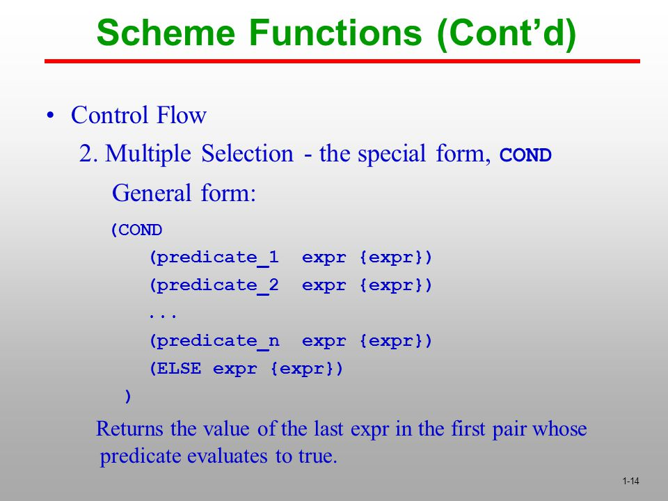1-14 Control Flow 2.