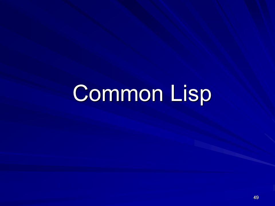 49 Common Lisp