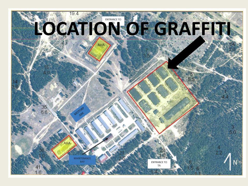 LOCATION OF GRAFFITI