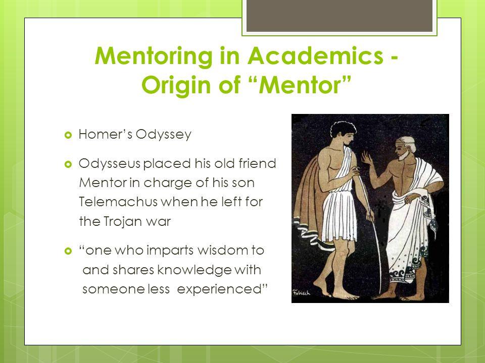 Qualitative Metrics of A Mentoring Relationship MentorMentee Eval. of Mentor Eval. of Mentee