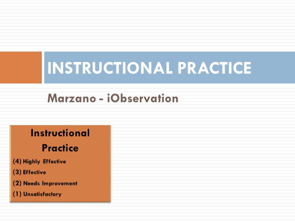 Instructional Practice Level 3 Level 2 Level 1 Level 0 Level 4