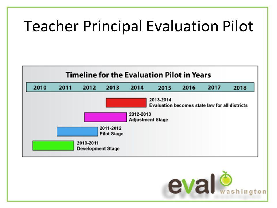 Teacher Principal Evaluation Pilot