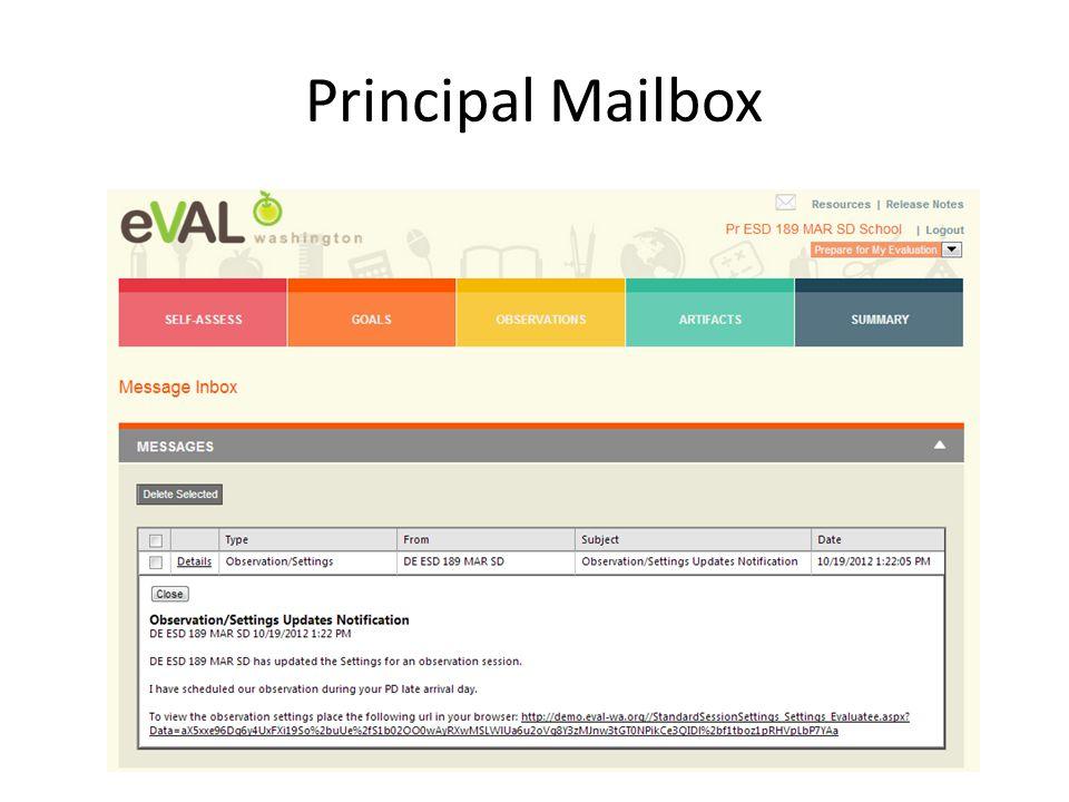 Principal Mailbox