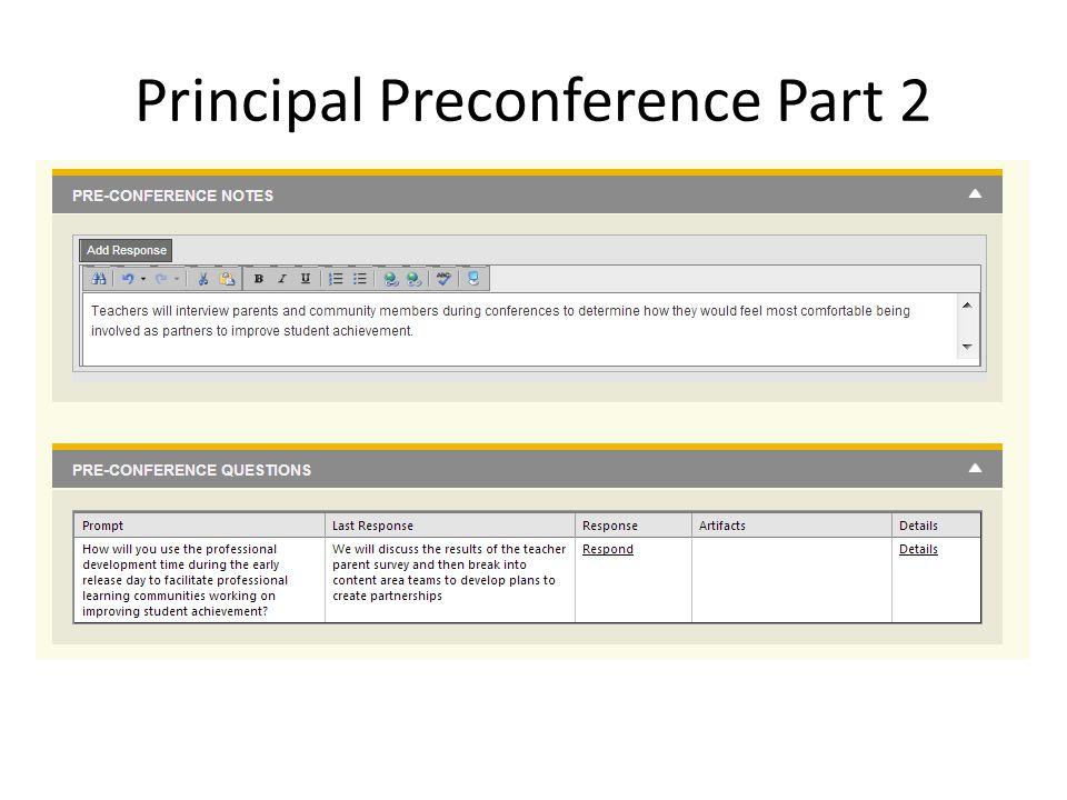 Principal Preconference Part 2