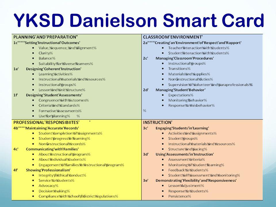 YKSD Danielson Smart Card