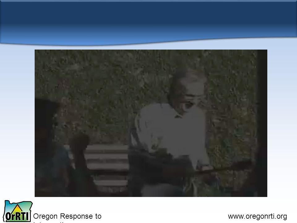 Oregon Response to Intervention www.oregonrti.org