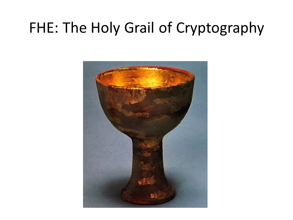 FHE: The Holy Grail of Cryptography