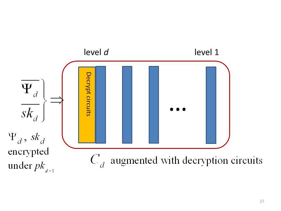 … Decrypt circuits level d level 1 37