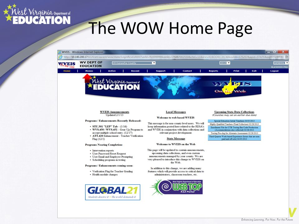 The WOW Home Page