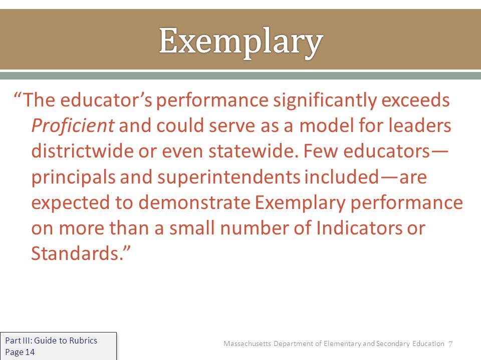 8 A.Standard-Standard I (Instructional Leadership) B.
