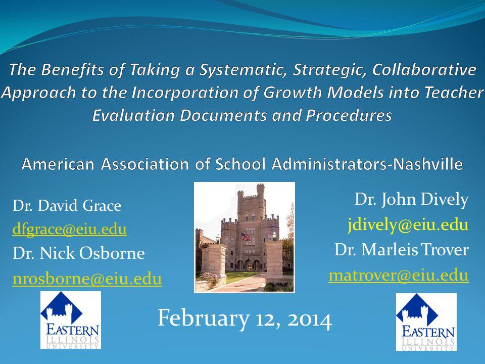 Dr.David Grace dfgrace@eiu.edu Dr. Nick Osborne nrosborne@eiu.edu Dr.