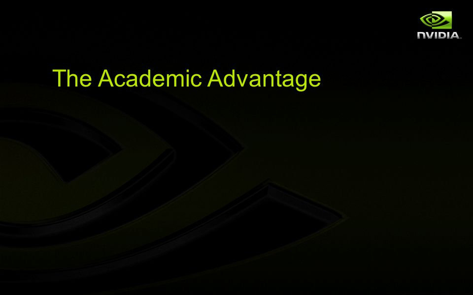 The Academic Advantage