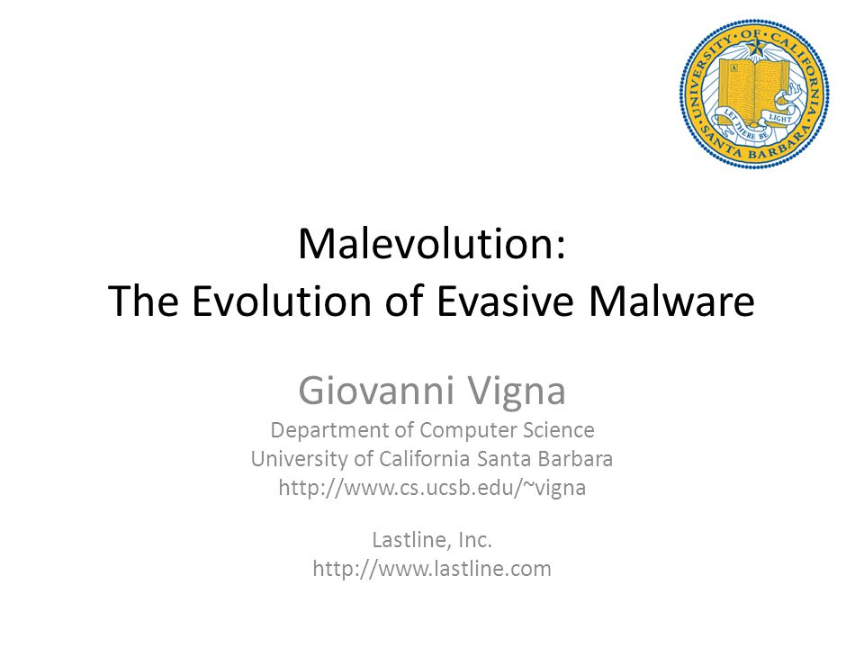 Limitations If we only see the evasive version of the code, we cannot detect it (and identify the evasion) This approach can only operate on client-side evasion If an evasion is performed before upacking/eval-ing of code, similarity to other malicious code cannot be computed – However, the attacker has to expose their evasion technique, instead of hiding it in the malicious code