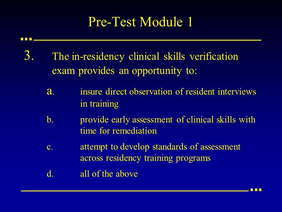 Pre-Test Module 1 3.