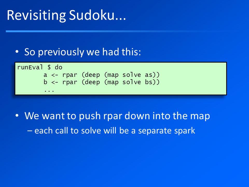 Revisiting Sudoku...