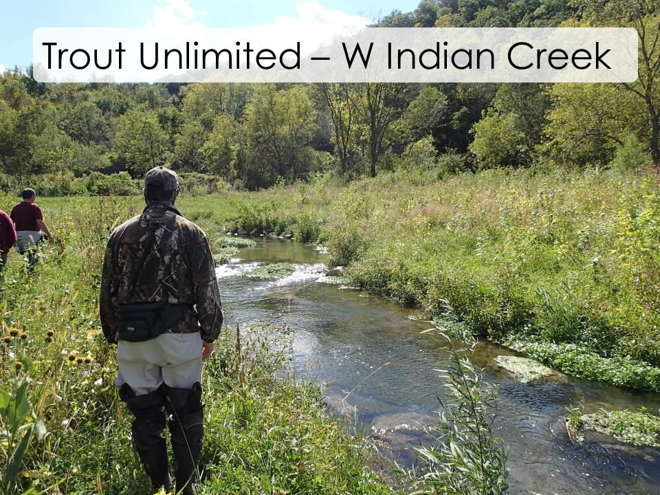 Trout Unlimited – W Indian Creek