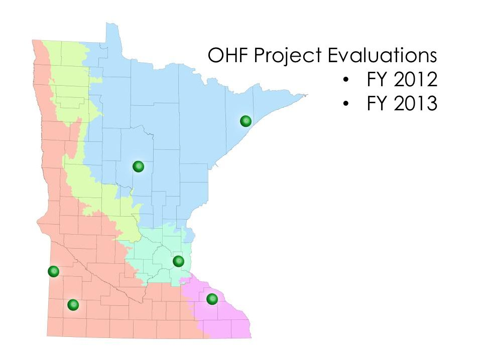 OHF Project Evaluations FY 2012 FY 2013 FY 2014 part. 15
