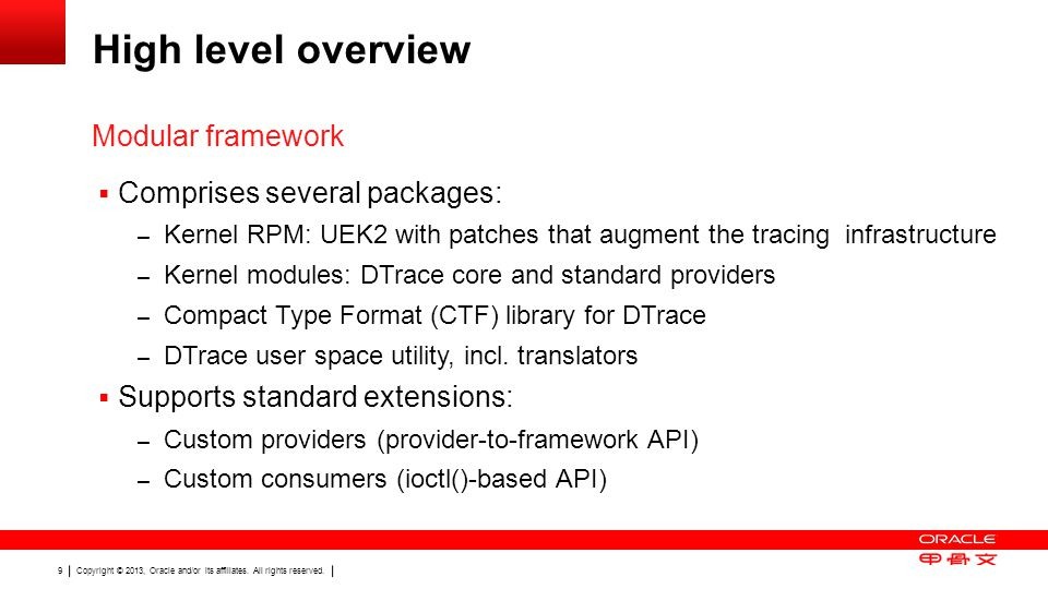 Copyright © 2013, Oracle and/or its affiliates. All rights reserved. 30 Graphic Section Divider
