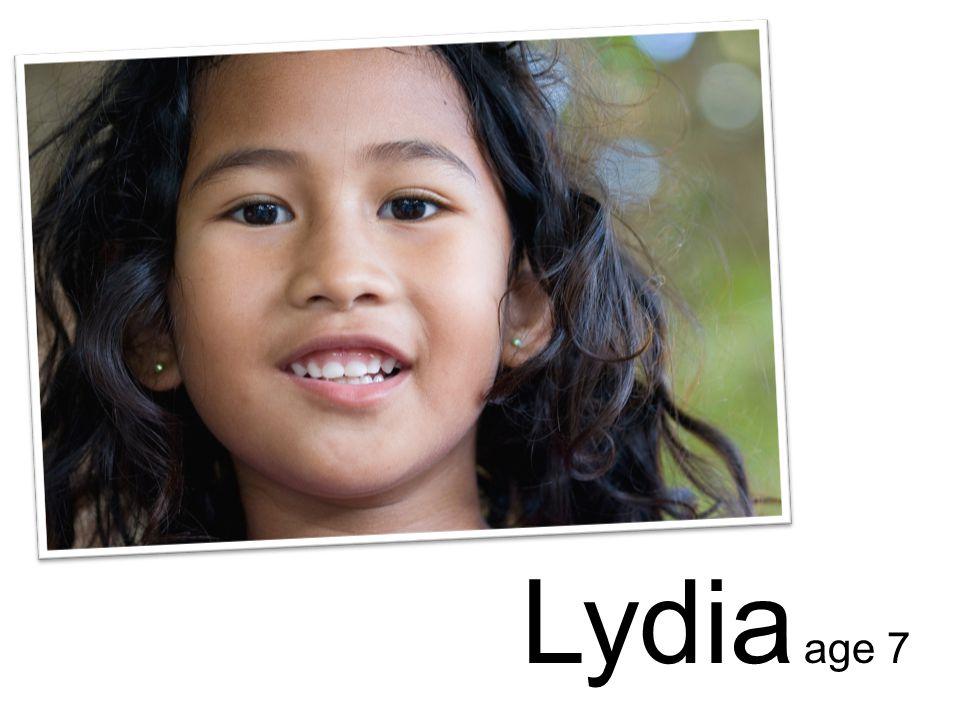 Lydia age 7