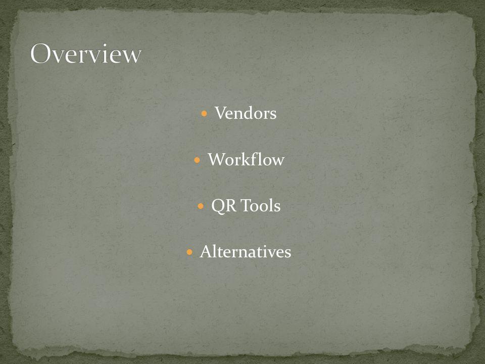 Vendors Workflow QR Tools Alternatives