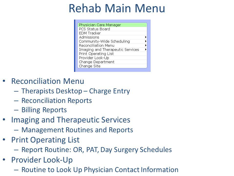 PCS: Patient Care Systems