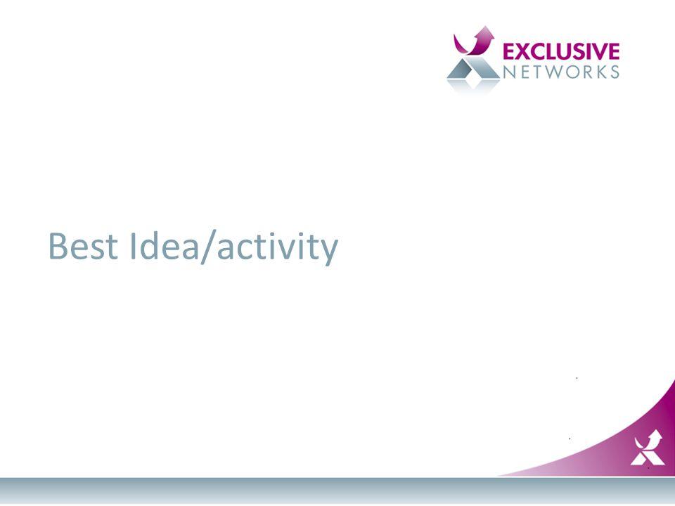 Best Idea/activity