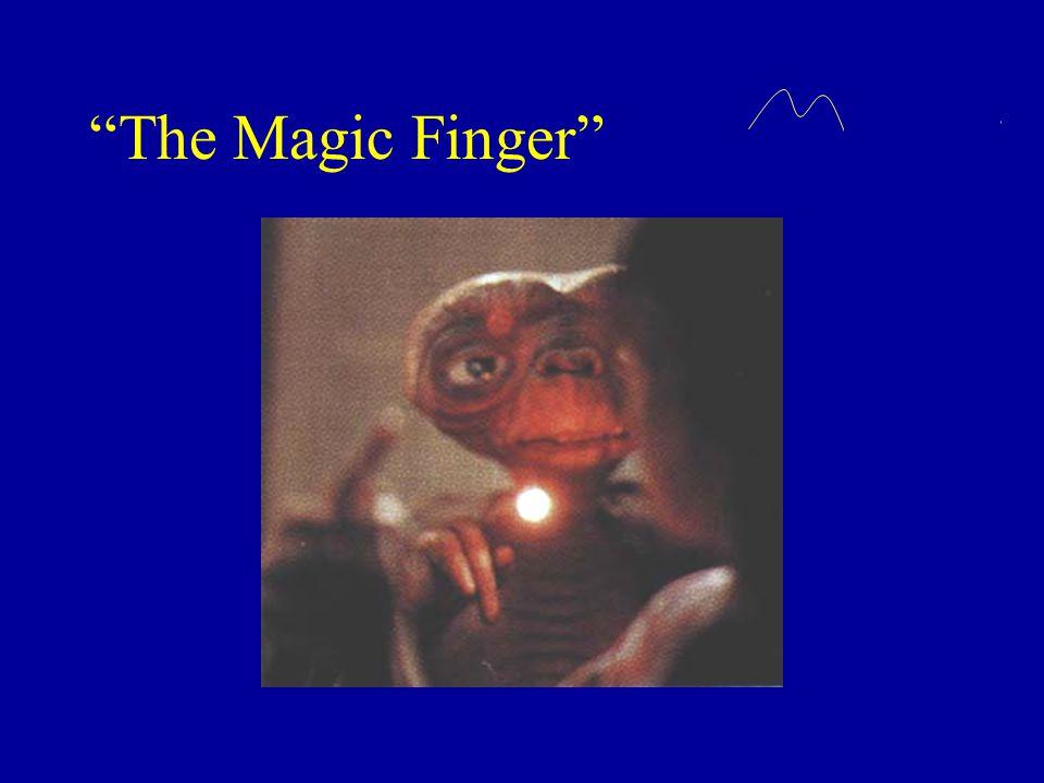 """The Magic Finger"""