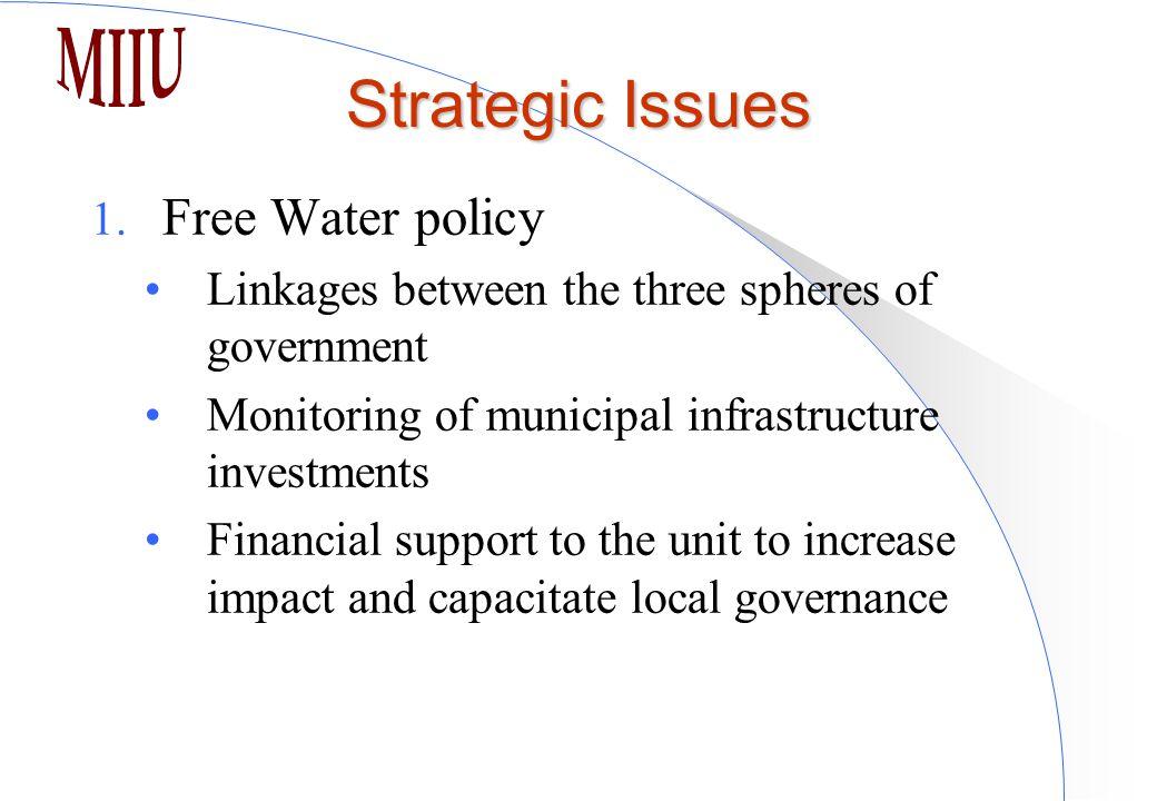 Strategic Issues 1.
