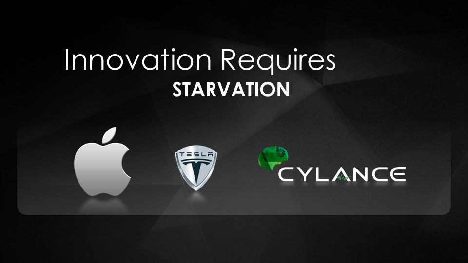 STARVATION Innovation Requires