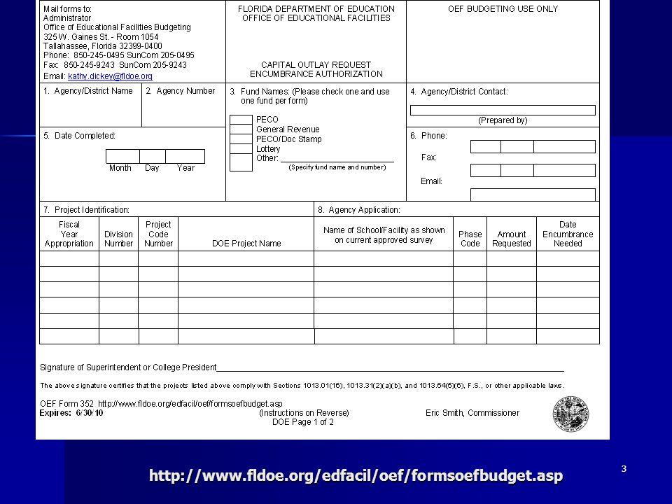 3http://www.fldoe.org/edfacil/oef/formsoefbudget.asp