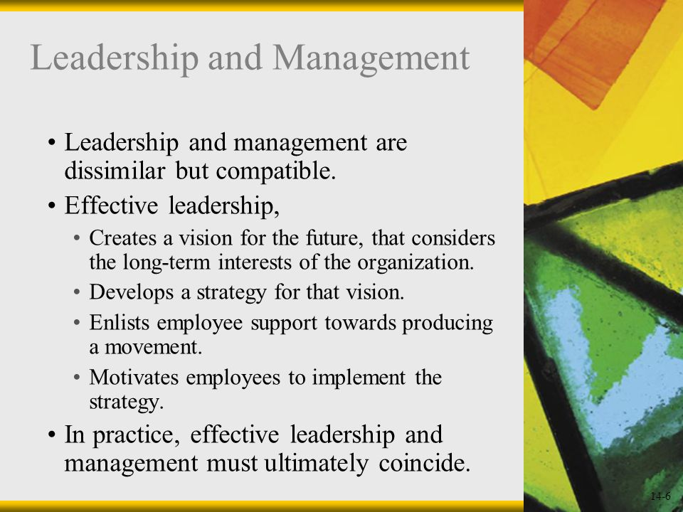 14-27 Transformational and Transactional Leaders Transactional leadership: Takes the approach that leaders engage in a bargaining relationship with their followers.