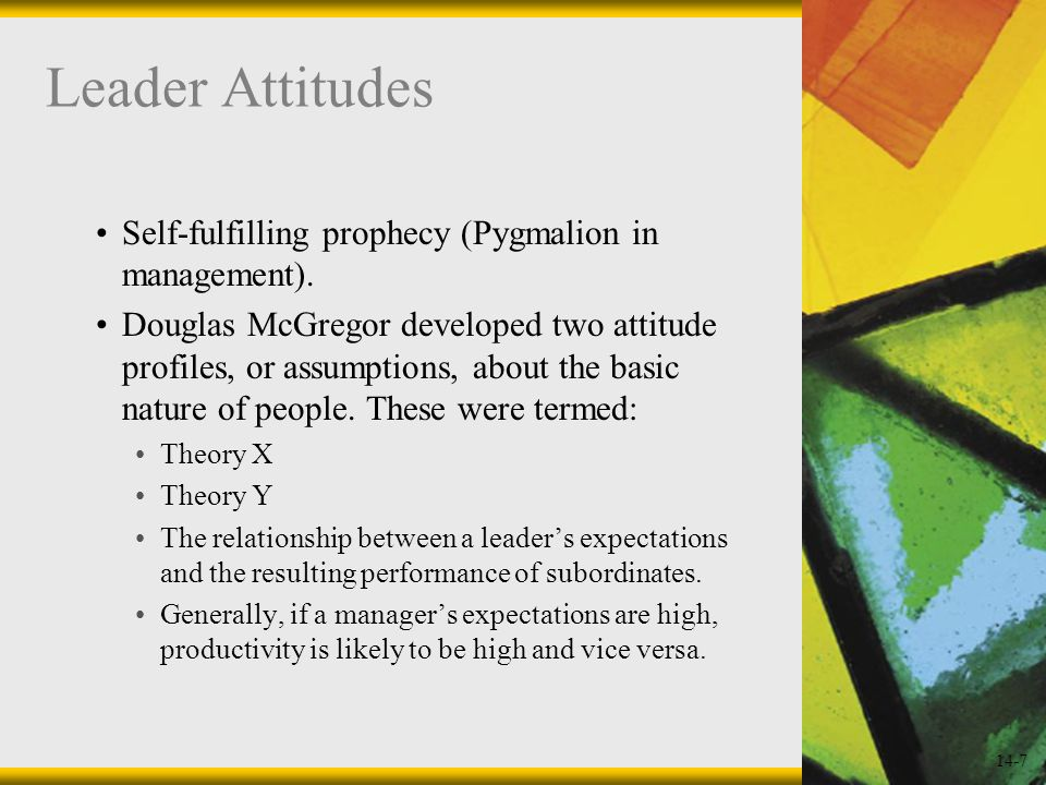 14-8 Assumptions about People Figure 14.2