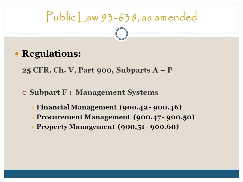 Procurement Management Sec.900.49What procurement standards apply to subcontracts.