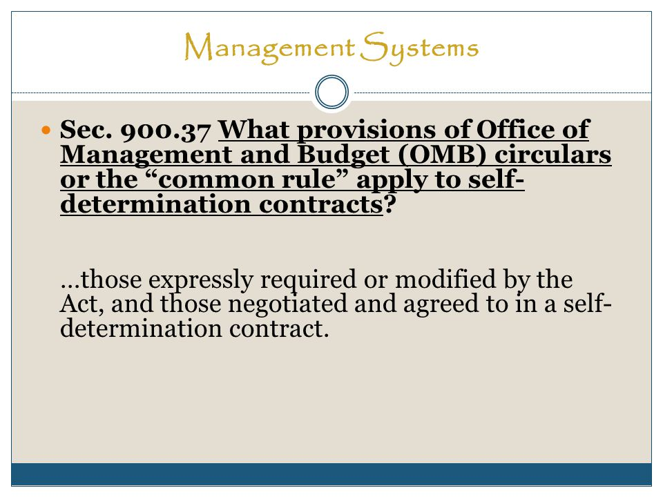 Management Systems Sec.