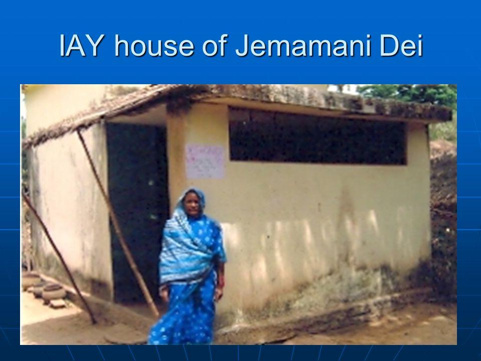 IAY house of Jemamani Dei