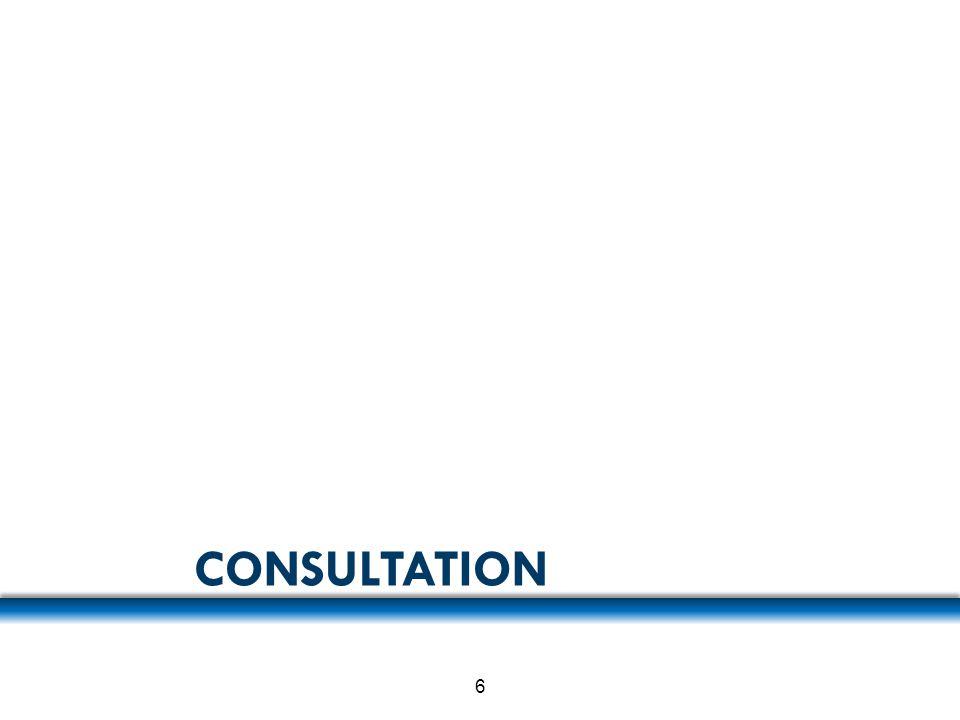 CONSULTATION 6
