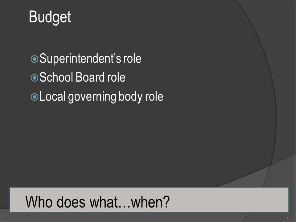 Surpluses Come From Savings  Surpluses are not a surprise  All school division's budgets should have unspent funds  School divisions cannot exceed their appropriations 28